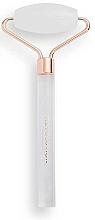 Parfumuri și produse cosmetice Roller din cuarț alb pentru față - Revolution Skincare Clear Quartz Roller