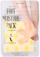 Parfumuri și produse cosmetice Mască hidratantă pentru picioare - Kocostar Foot Moisture Pack Yellow