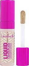 Parfumuri și produse cosmetice Corector de față - Lovely Liquid Camouflage