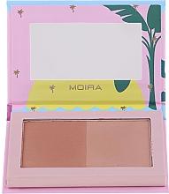 Parfumuri și produse cosmetice Bronzer pentru față - Moira Island Queen Bronzed Goddess Duo