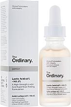 Parfumuri și produse cosmetice Peeling cu acid lactic - The Ordinary Lactic Acid 10% + HA 2%