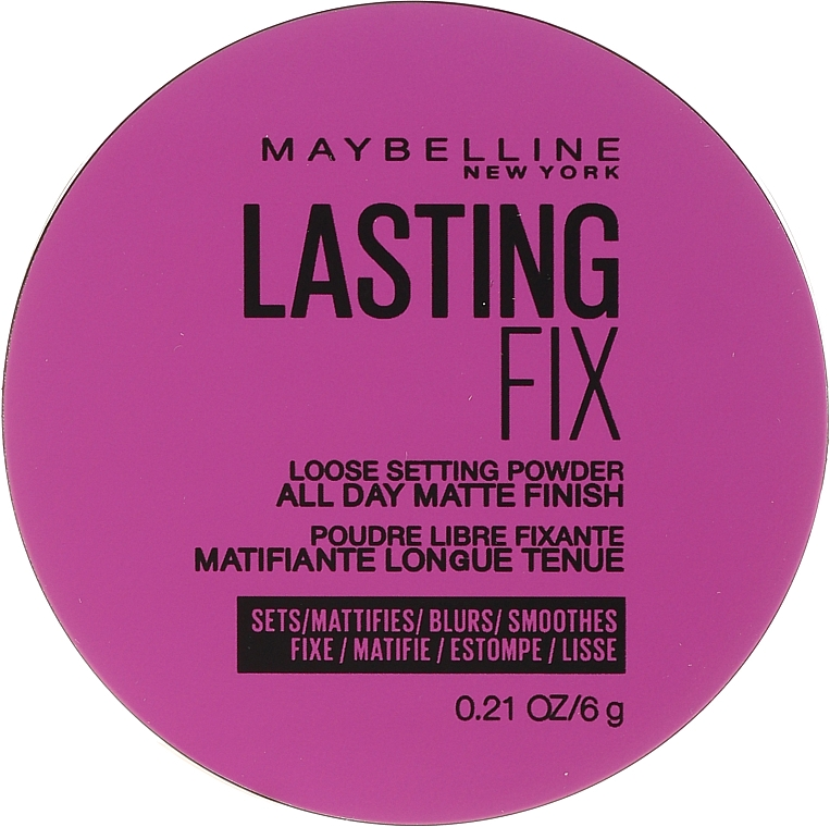 Pudră pulbere transparentă - Maybelline Master Fix Setting Perfecting Loose Powder