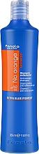 Parfumuri și produse cosmetice Șampon pentru păr vopsit în nuanțe închise - Fanola No Orange Extra Blue Pigment Shampoo
