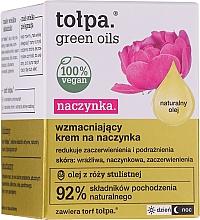 Parfumuri și produse cosmetice Cremă de întărire pentru pielea vasculară - Tolpa Green Oils Cream