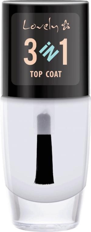 Gel de finisare pentru unghii - Lovely Top Coat 3in1