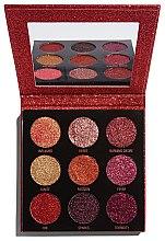 Parfumuri și produse cosmetice Paletă de machiaj - Makeup Revolution Pressed Glitter Palette Hot Pursuit