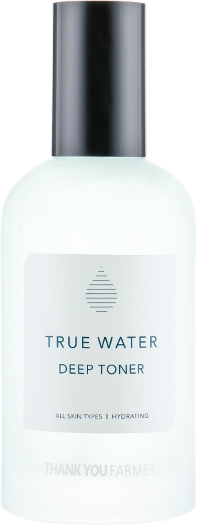 Tonic profund hidratant pentru față - Thank You Farmer True Water Toner — Imagine N2