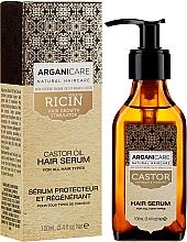 Parfumuri și produse cosmetice Ser pentru creșterea părului - Arganicare Castor Oil Hair Serum