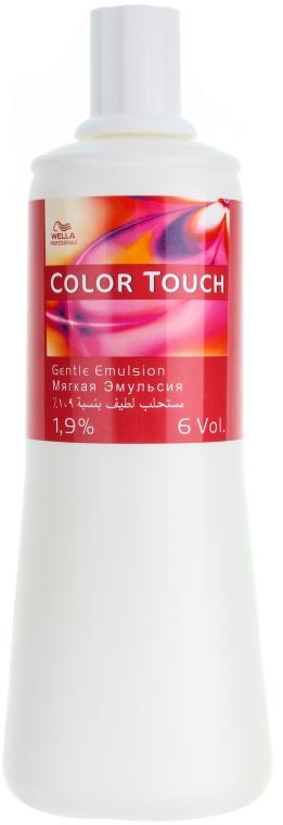 Emulsie pentru vosea de păr Color Touch - Wella Professionals Color Touch Emulsion Normal 1.9% — Imagine N3