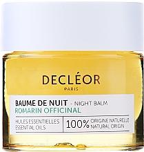 Parfumuri și produse cosmetice Balsam de noapte pentru față - Decleor Rosemary Officinalis Night Balm (mini)