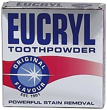 Parfumuri și produse cosmetice Praf de dinți - Eucryl Toothpowder Original
