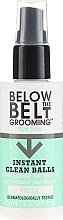 Spray revigorant pentru igiena intimă - Below The Belt Grooming Instant Clean Balls Fresh — Imagine N1