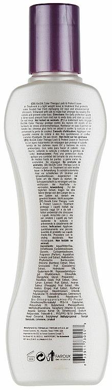 Balsam fără clătire pentru protejarea culorii părului vopsit - Biosilk Color Therapy Lock and Protect Leave In Treatment — Imagine N4