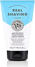 Parfumuri și produse cosmetice Cremă tradițională pentru bărbierit - The Real Shaving Co. Age Defence Traditional Shave Cream