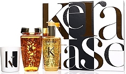Parfumuri și produse cosmetice Set - Kerastase Elixir Ultime Luxury Gift Set (shmp/250ml + h/oil/100ml + candle/100g)