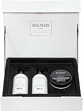 Parfumuri și produse cosmetice Set - Balmain Paris Hair Couture Moisturizing Care Set (shm/300ml + cond/300ml + mask/200ml)