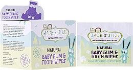 Parfumuri și produse cosmetice Șervețele naturale pentru gingii și dinți - Jack N' Jill