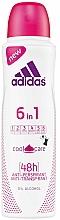 Parfumuri și produse cosmetice Deodorant - Adidas Anti-Perspirant 6 in 1 Cool&Care 48h