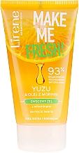 Parfumuri și produse cosmetice Gel de curățare cu extract de yuzu și ulei de moringa - Lirene Make Me Clean! Fresh Vegetable Gel