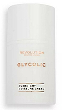 Parfumuri și produse cosmetice Cremă glicolică de noapte pentru față - Revolution Skincare Glycolic Overnight Moisture Cream