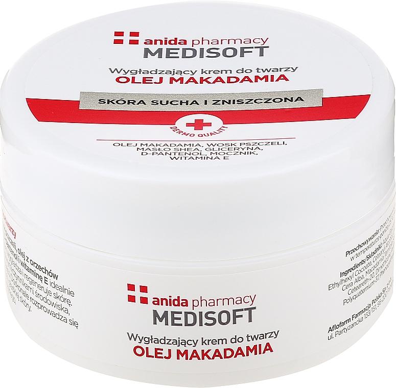 Cremă antirid cu ulei de macadamia - Anida Medisoft