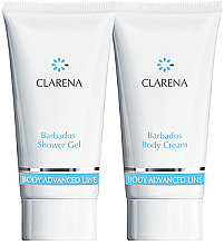 Parfumuri și produse cosmetice Set - Clarena Barbados Clarena (sh/gel/30ml + body/chr/30ml)