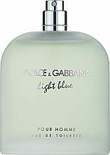 Dolce & Gabbana Light Blue Pour Homme - Apă de toaletă (tester fără capac) — Imagine N1