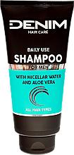 Parfumuri și produse cosmetice Șampon cu apă micelară și aloe vera - Denim Shampoo With Micellar Water And Aloe Vera