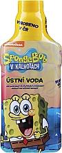Parfumuri și produse cosmetice Agent de clătire pentru cavitatea bucală - VitalCare Sponge Bob Mouthwash for Children