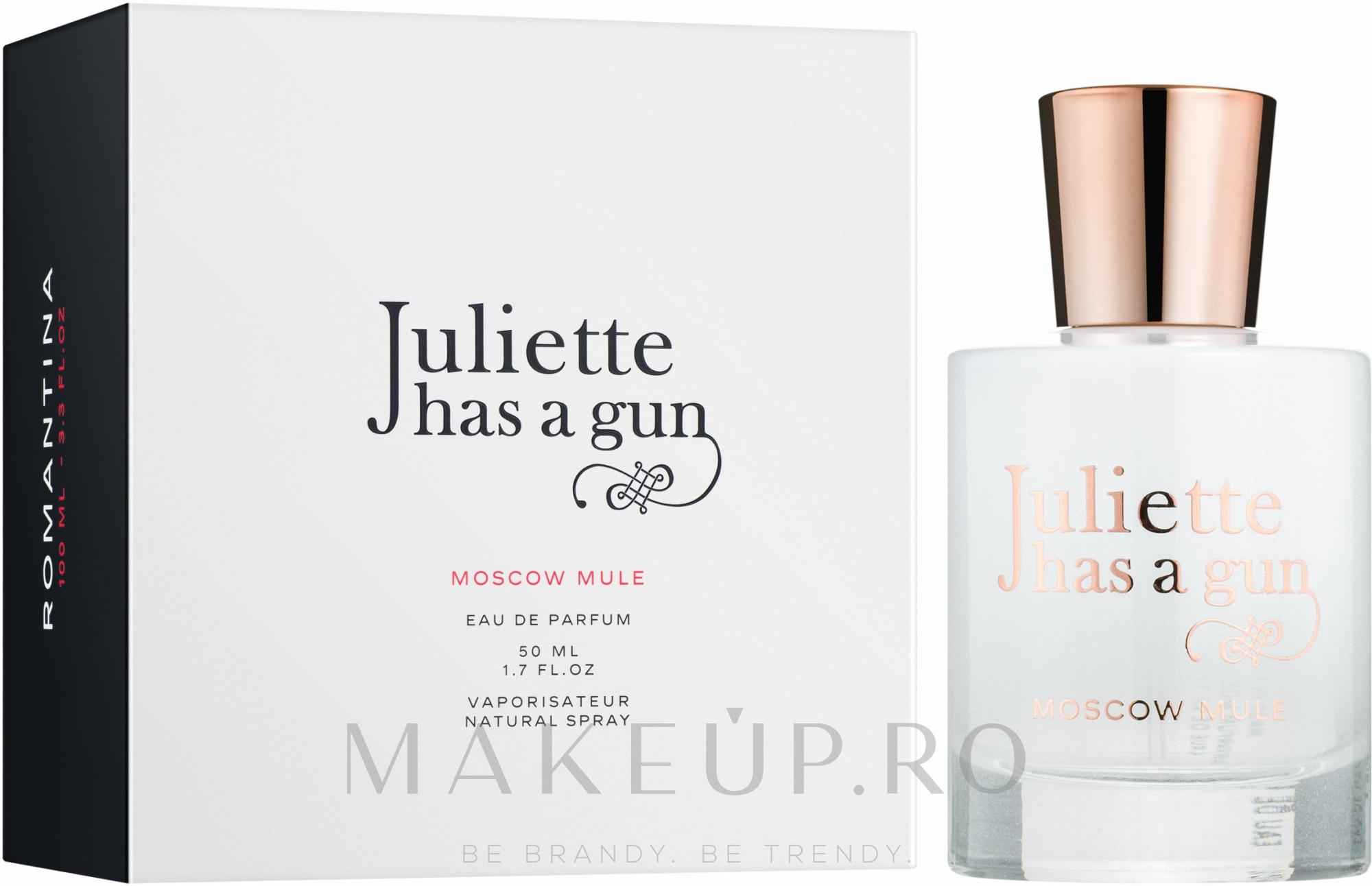 Juliette Has A Gun Moscow Mule - Apă de parfum  — Imagine 50 ml