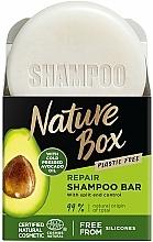 Parfumuri și produse cosmetice Șampon solid - Nature Box Avocado Dry Shampoo