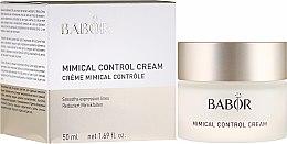 Parfumuri și produse cosmetice Cremă de față - Babor Mimical Control Cream