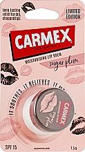 """Balsam de buze """"Prune de zahăr"""" în borcan - Carmex Jar Sugar Plump — Imagine N1"""
