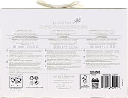 Set - Baylis & Harding Urban Barn Lime Basil & Mint Set (b/cr/300ml + sh/gel/300ml + sh/cr/300ml) — Imagine N2