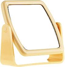 Parfumuri și produse cosmetice Oglindă cu suport 85727, galbenă - Top Choice Beauty Collection Mirror
