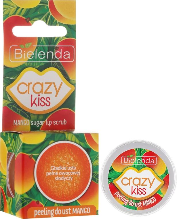 """Peeling pentru buze """"Mango"""" - Bielenda Crazy Kiss Mango Sugar Lip Scrub"""