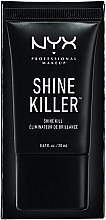Bază de machiaj cu efect matifiant - NYX Professional Makeup Shine Killer — Imagine N2