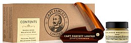 Parfumuri și produse cosmetice Set - Captain Fawcett Sandalwood (moust/wax/15ml + moustache comb)