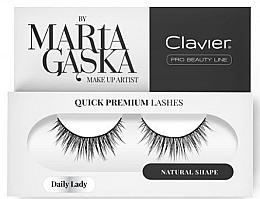 Parfumuri și produse cosmetice Gene false - Clavier Quick Premium Lashes Daily Lady 813