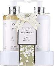 Parfumuri și produse cosmetice Set - Baylis & Harding Urban Barn Lime Basil & Mint (h/wash/300ml + h/cr/300ml)