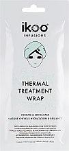 """Parfumuri și produse cosmetice Mască termică de păr """"Hidratare și strălucire"""" - Ikoo Infusions Thermal Treatment Wrap"""