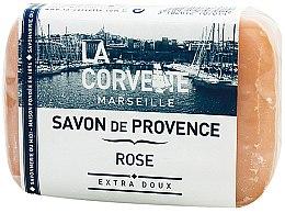 "Parfumuri și produse cosmetice Săpun provensal ""Trandafir"" - La Corvette Provence Soap Rose"