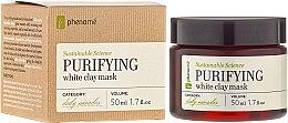 Parfumuri și produse cosmetice Mască de față - Phenome Sustainable Science Purifying White Clay Mask