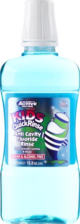 Agent de clătire pentru cavitatea bucală pentru copii - Beauty Formulas Active Oral Care Quick Rinse