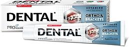 Parfumuri și produse cosmetice Pastă pentru curățarea temeinică a dinților - Dental Pro Ortho&Brackets