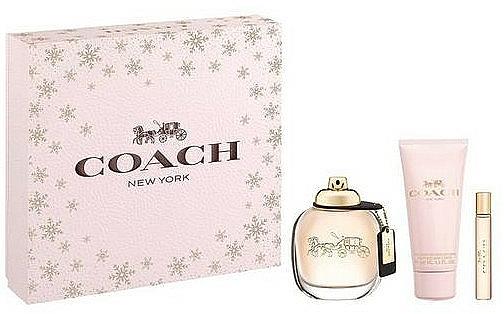 Coach New York Eau De Parfum - Set (edp/90ml + b/lot/100ml + edp/7.5ml) — Imagine N1