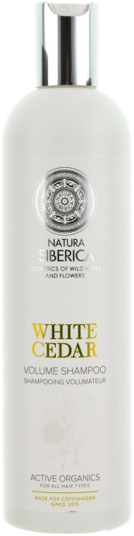 Șampon cu extract de cedru alb - Natura Siberica Copenhagen White Cedar Volume Shampoo