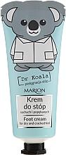 Parfumuri și produse cosmetice Cremă pentru picioare - Marion Dr Koala Foot Cream