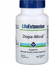 Parfumuri și produse cosmetice Preparat pentru memorie și funcții cognitive - Life Extension Dopa-Mind