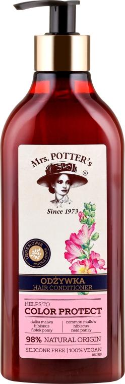 Balsam pentru părul vopsit - Mrs. Potter's Triple Flower Helps To Color Protect Hair Conditioner
